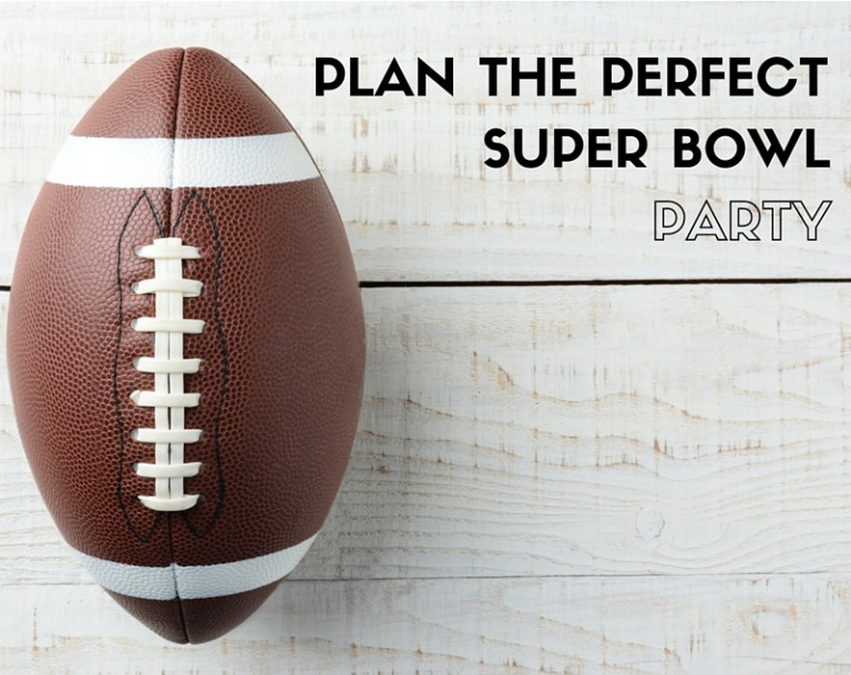 superbowl party plan