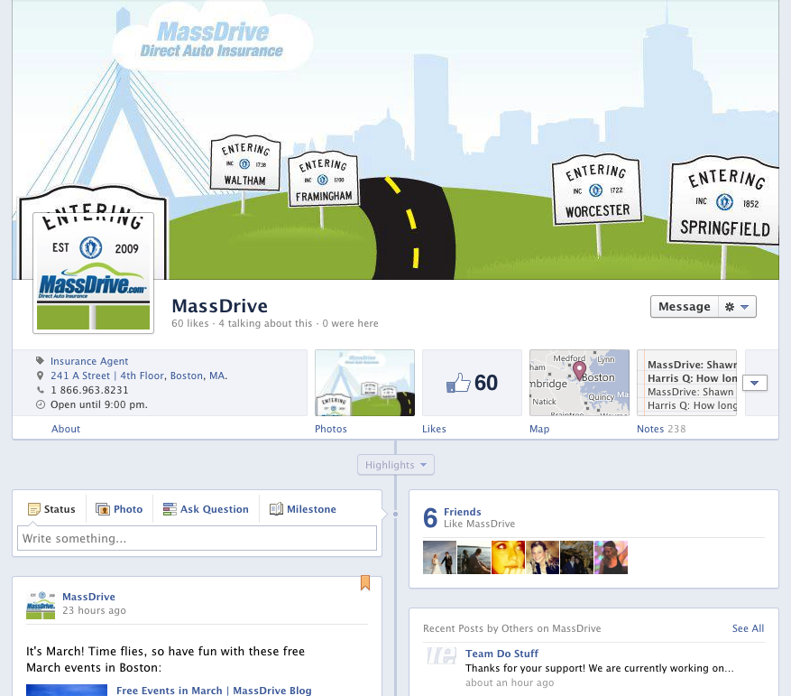 MassDrive Facebook