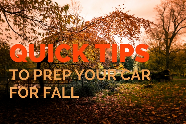 prep your car for fall